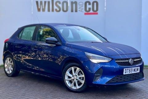 Blue Vauxhall Corsa 1.2 SE Premium 2020