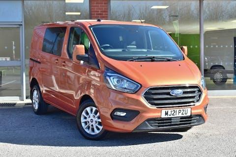 Orange Ford Transit Custom 2.0 320 Limited Dciv Ecoblue 2021
