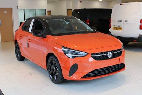 Orange Vauxhall Corsa 1.2 Griffin 2021