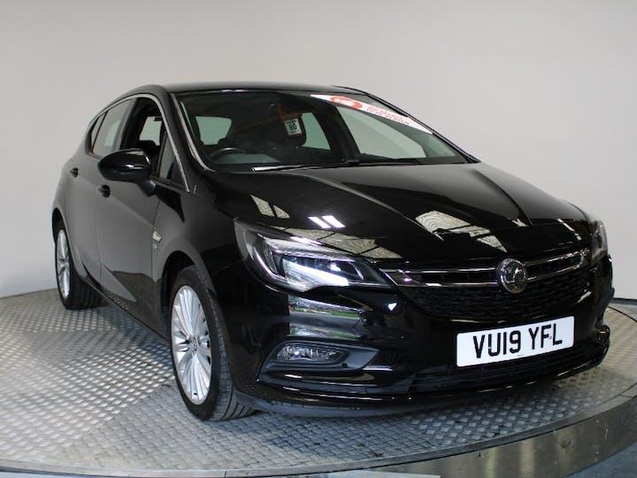 Black Vauxhall Astra 1.6 Elite Nav S/S 2019