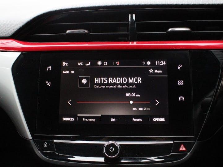 White Vauxhall Corsa 1.2 SRi Premium 2020
