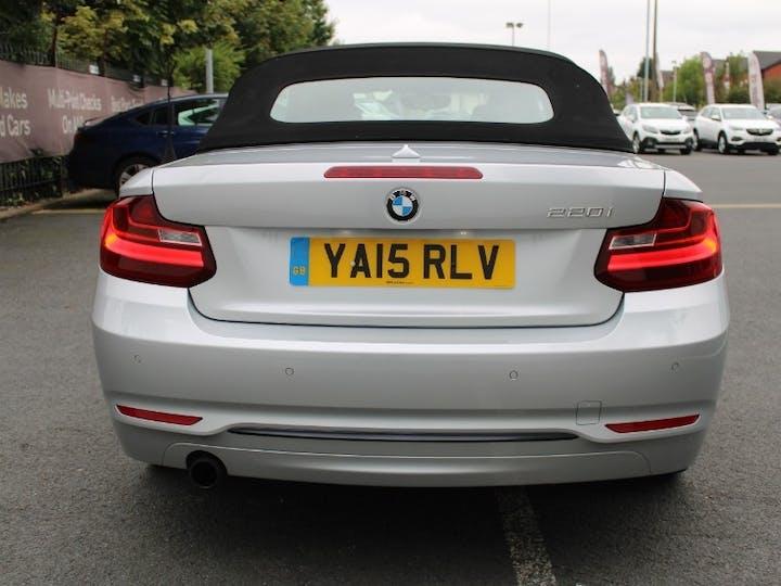 Silver BMW 2 Series 2.0 220i Sport 2015