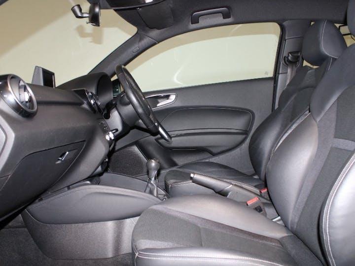 Black Audi A1 1.6 TDI S Line Style Edition 2014