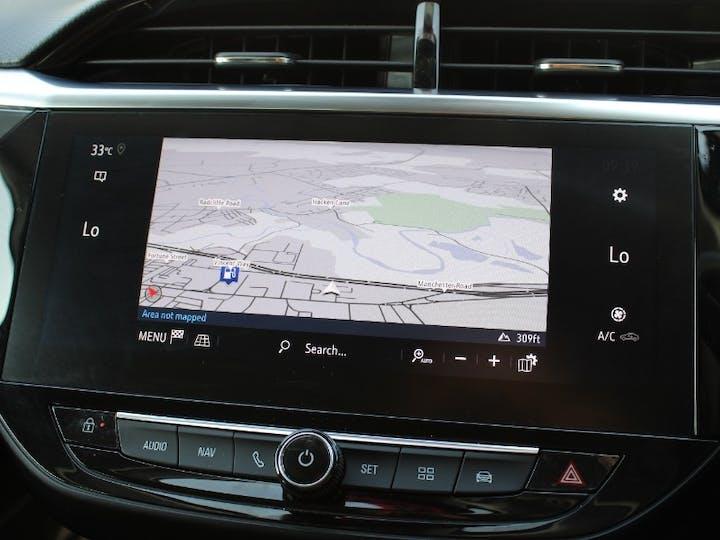 Red Vauxhall Corsa 1.5 Elite Nav Premium 2020