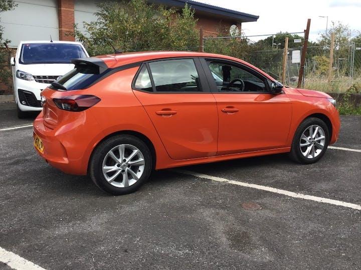Orange Vauxhall Corsa 1.2 SE 2020
