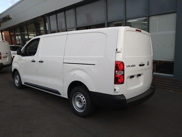 White Vauxhall Vivaro 2.0 L2h1 3100 Dynamic S/S 2021